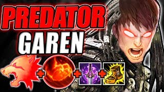 ABUSING NEW PREDATOR RUNE ON GAREN! 750+ MOVEMENT SPEED WITH ONLY 2 ITEMS! - League of Legends