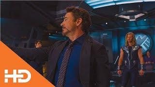 А он в Галагу Играет ★ Мстители (2012)