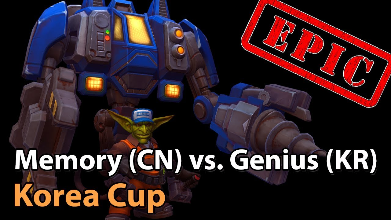 ► EPIC Memory vs Genius - Korea Cup - Heroes of the Storm Esports