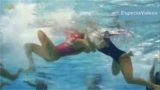 ВОДНОЕ ПОЛО игра под водой