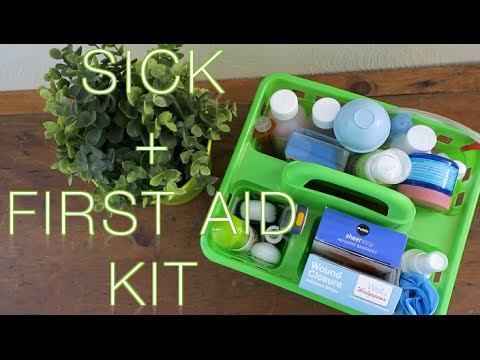 TODDLER + BABY MUST HAVES | FIRST AID & SICK KIT