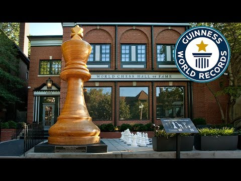 Largest Chess Piece - Guinness World Records