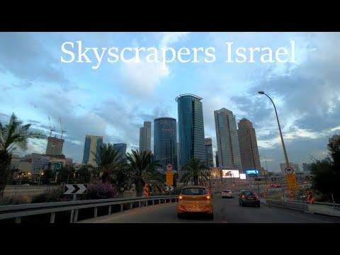 Skyscrapers Tel Aviv Ayalon Israel 2020 גורדי שחקים תל אביב איילון ישראל