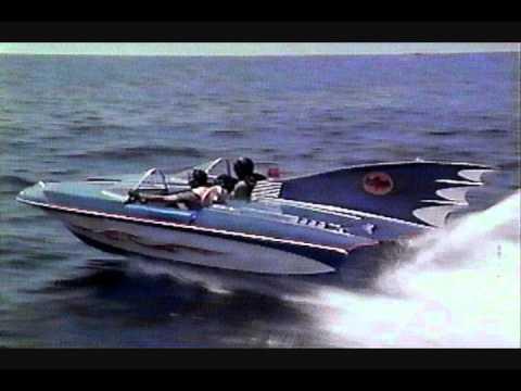 Batman 1966 TV Batmobile to Batboat music