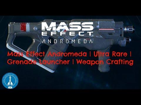 Mass Effect Andromeda Ultra Rare Grenade Launcher