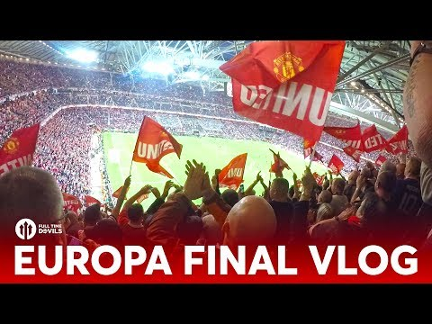 VLOG: Europa League Final 2017! | Ajax 0-2 Manchester United