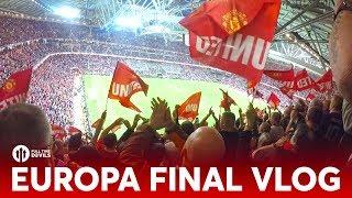 VLOG: Europa League Final 2017! | Ajax 0-2 Manchester United