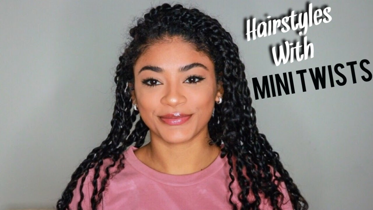 W Hairstyle: Hairstyles W/ Mini Twists - Natural Hair