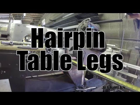 Make: Hairpin Legs - DIY Furniture