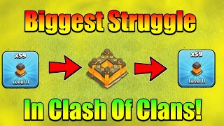 Biggest Struggle In Clash of Clans! - Road To TH13 Max