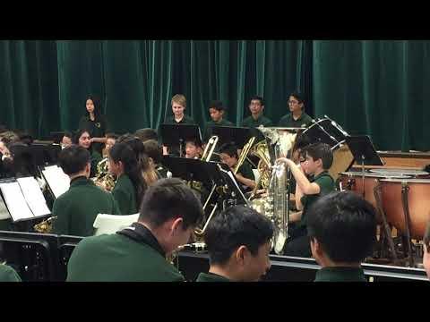 Daniel Wright Junior High School 7th-grade band: Byzantine Dances, by Carol Brittin Chambers