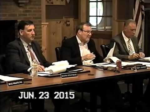 Tewksbury, MA: Board of Selectmen Meeting: June 23, 2015: Part 2 of 2