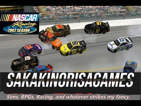 NASCAR Racing 2003 Season: MENCS 2018 Mod - Texas - (Season