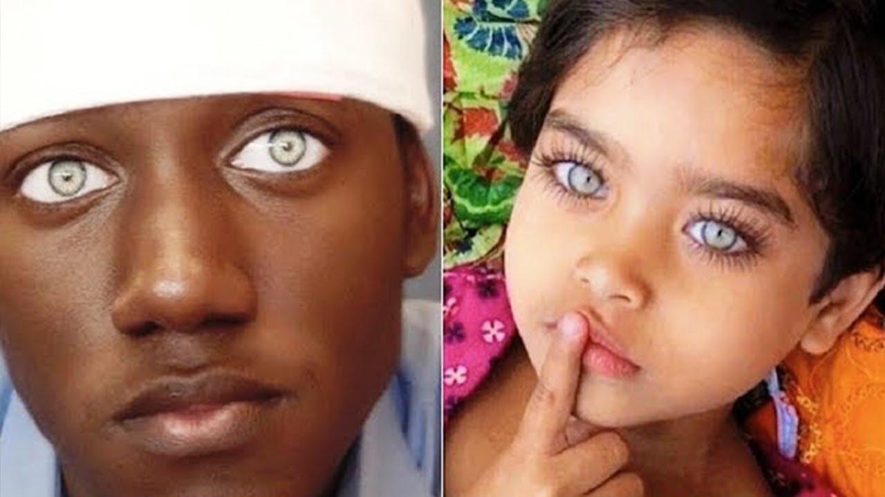 10 أشخاص يتمتعن بأجمل عيون فى العالم