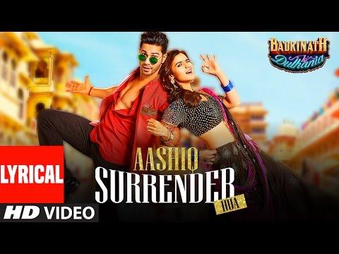 Aashiq Surrender Hua Lyrical Video | Varun, Alia |Amaal Mallik,Shreya Ghoshal |Badrinath Ki Dulhania