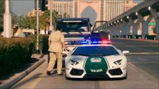 Top Gear - Richard Hammond gets stopped by a Lamborghini Aventador Police Car
