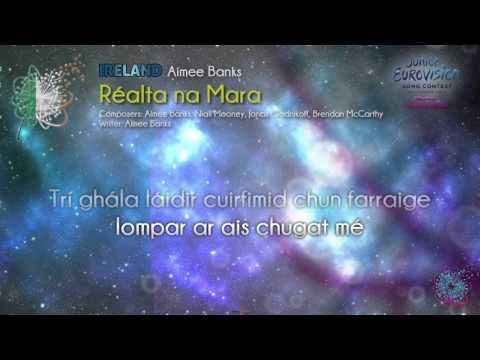 "Aimee Banks - ""Réalta na Mara"" (Ireland) - [Karaoke version]"