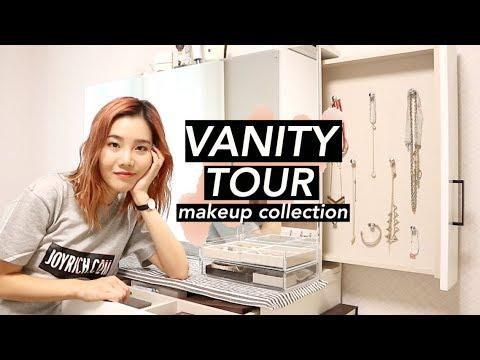 Vanity Tour: Massive Makeup Collection
