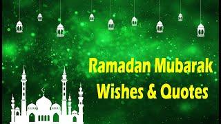 Happy Ramadan Mubarak Wishes | Ramadan Wishes 2020