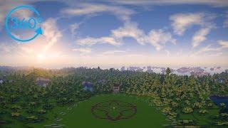 Minecraft In 360º VR – 8K | Cinematic | KUDA Shaders V6.5.03 DEV | Past Life Pro