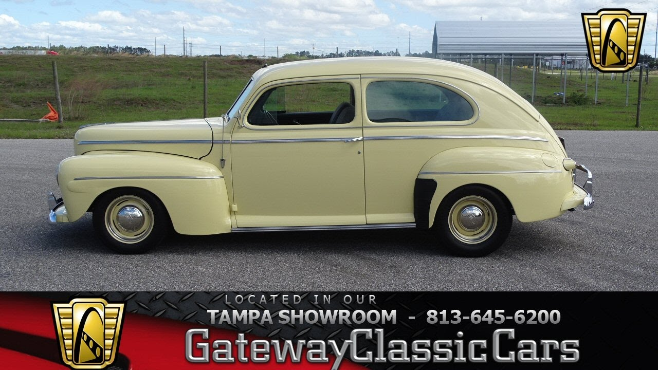 841 Tpa 1942 Ford Super Deluxe 350 Cid V8 3 Speed Automatic Youtube Chevy Coupe