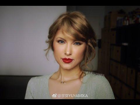 YUYAMIKA : Make-up Painting Of  Taylor Swift
