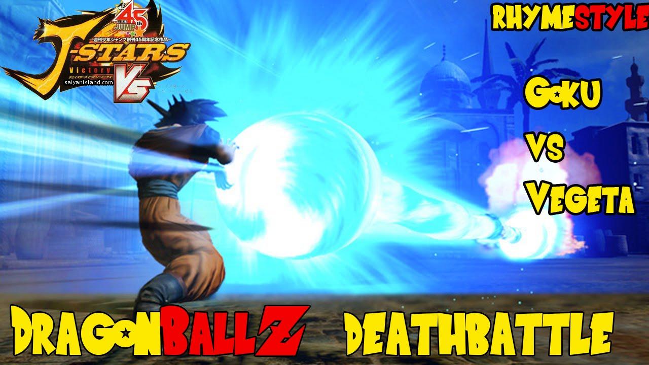 Dragon Ball Z Deathbattle Goku Vs Vegeta