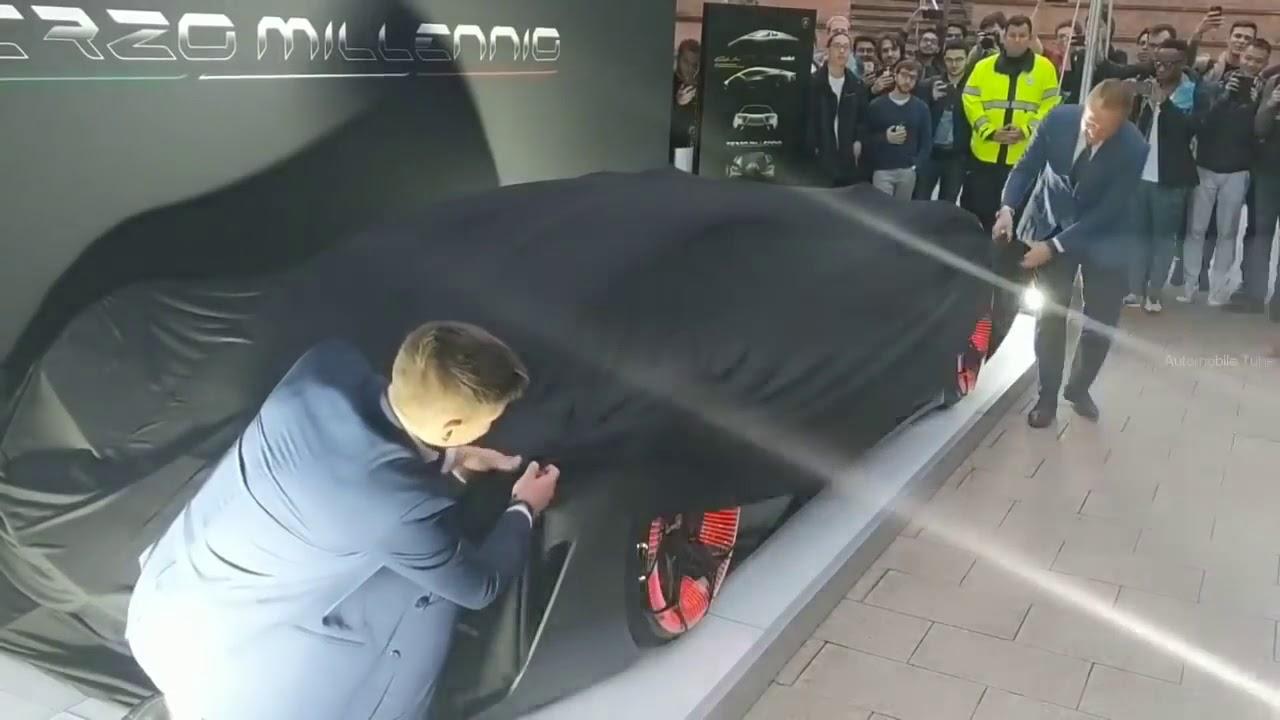 Nouveaux Monstre Lamborghini Terzo Millennio 100 Electrique Youtube