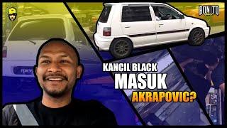 KANCIL BLACK MASUK AKRAPOVIC ? #NIVALEL #BONITO #NYAWABLACK #HITAMPUNSEDAP