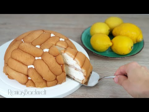 Torte Aus Der Schüssel, Zitronengenuss Ohne Backen 🍋