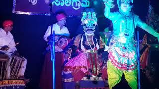 PUSHPA CHANDANA YAKSHAGANA (ಪುಷ್ಪ ಚಂದನ) ಭಾಗ 8 16.9.2017 ರಂದು ನಡೆದದ್ದು