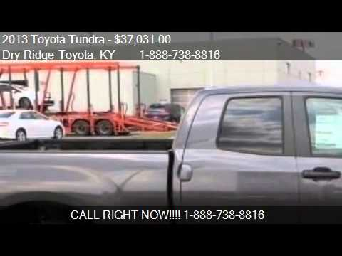 2013 toyota tundra grade for sale in dry ridge ky 41035. Black Bedroom Furniture Sets. Home Design Ideas