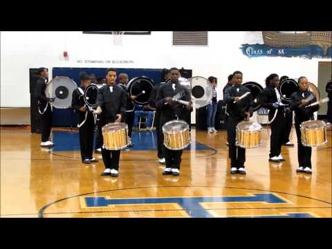 GODS OF WAR DRUM LINE COMPETITION COMPILATION 2014 HUNTINGTON HIGH SCHOOL