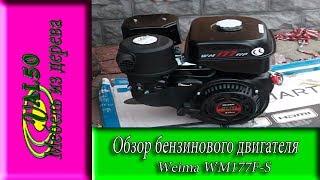 видео Двигатель Weima WM170F-S