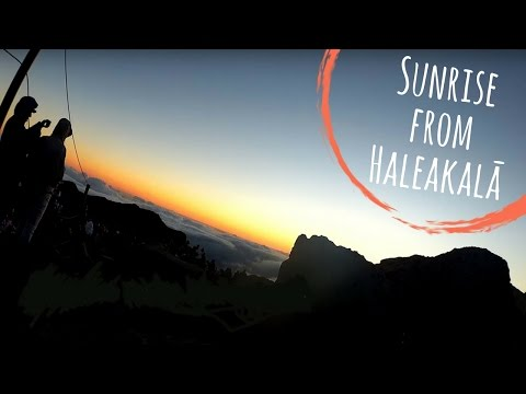 Sunrise from Haleakalā on Maui - A Time Lapse