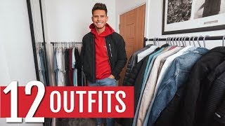 Gambar cover 12 Simple & Easy Men's Winter Outfits | Men's Winter Outfit Ideas 2020