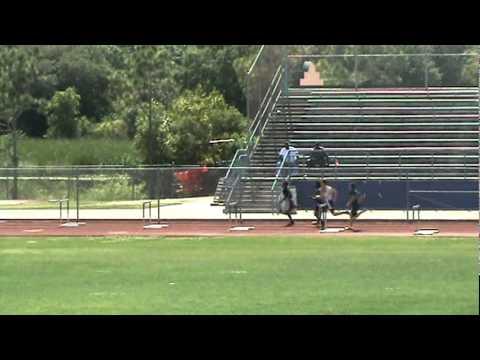 Nick Friel 300 M Intermediate Hurdle