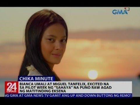 Bianca Umali at Miguel Tanfelix, excited na sa pilot week ng Sahaya