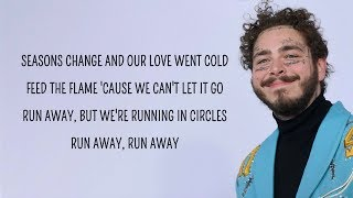 Post Malone - Circles (Lyrics) Video