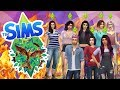 SOMEONE IS ON FIRE ALREADY?! - The Sims 4 Youtuber Hunger Games - Season 4 - Ep.1