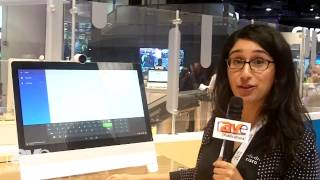 InfoComm 2014: Negisa Taymourian Demos Cisco's DX Series Collaboration Endpoints