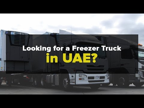 Looking for Freezer Truck in UAE - Call + 971509265149
