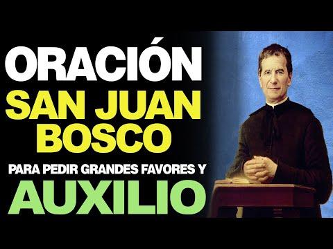 🙏 Oración a San Juan Bosco PARA PEDIR GRANDES FAVORES y Auxilio Urgente 🙇