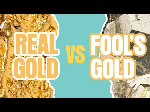 Real Gold vs. Fool's Gold