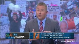 Florida & Jim McElwain Situation | College GameDay