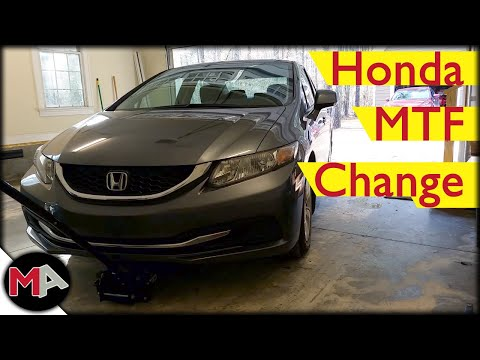 2013 Honda Civic Manual Transmission Fluid Change