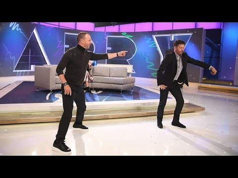 The Harry vs Donnie Wahlberg Throwdownoff!