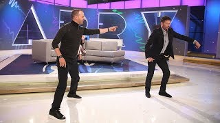 The Harry vs Donnie Wahlberg Throwdown-off! Video