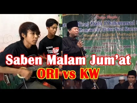 Mbrebes Mili SABEN MALAM JUM'AT, Tembang ORIGINAL vs KW Pengamen on Youtube