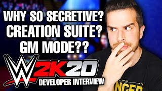 I interviewed the developers about WWE 2K20... (GM Mode, Creation Suite, My Career, & more)